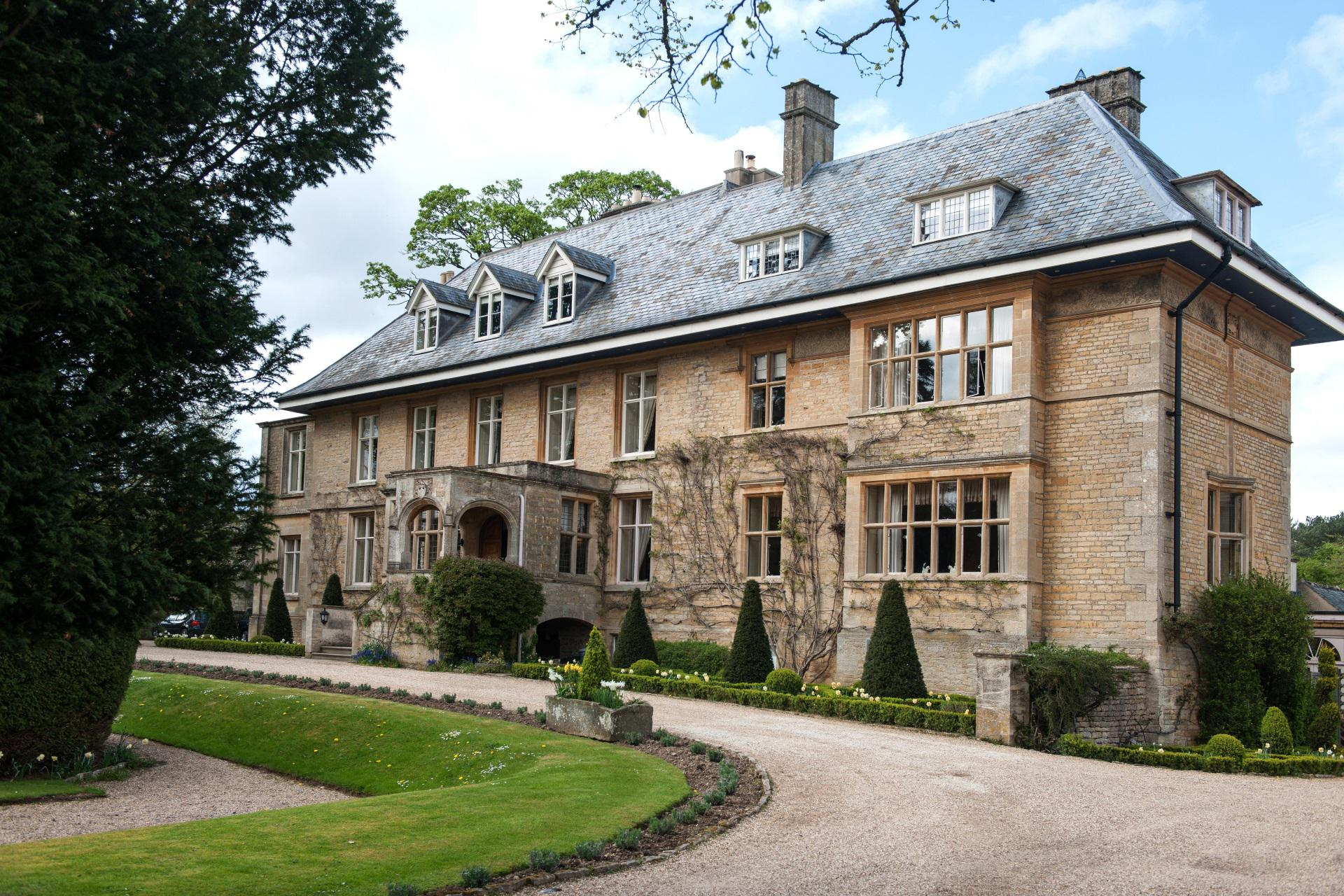 The Slaughters Manor House Exterior View