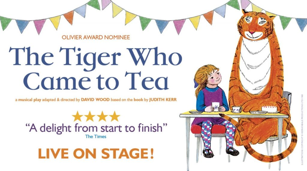 The Tiger Who Came To Tea Live at New Theatre Oxford