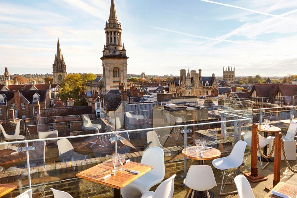 The Varsity Club Oxford Roof Terrace