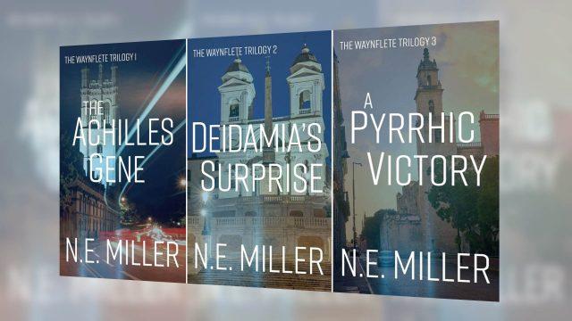 The Waynflete Trilogy thriller novels