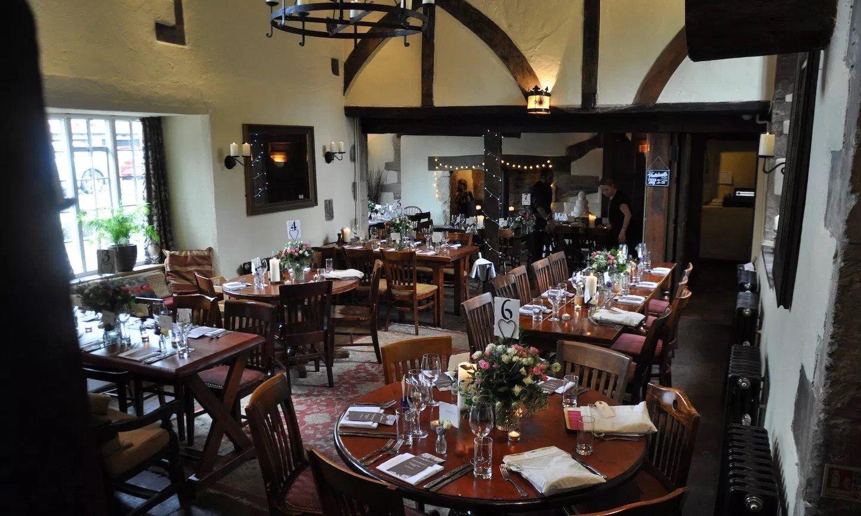 The White Hart Fyfield Fine Dining Pub Restaurant in Oxfordshire - Interior