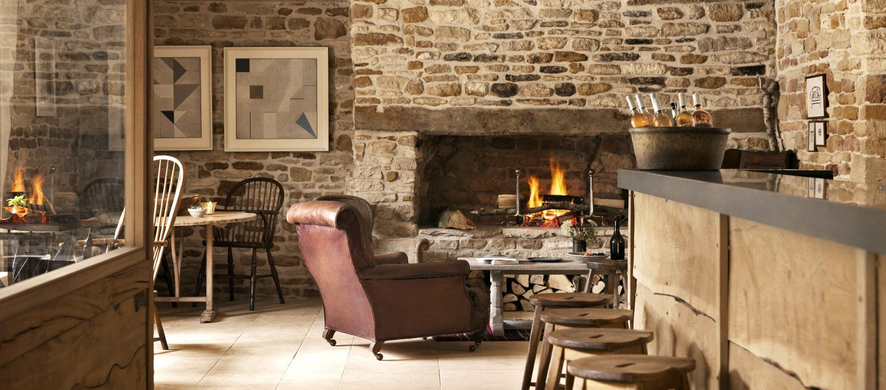 The Wild Rabbit, Kingham Pub with Rooms in Oxfordshire 02