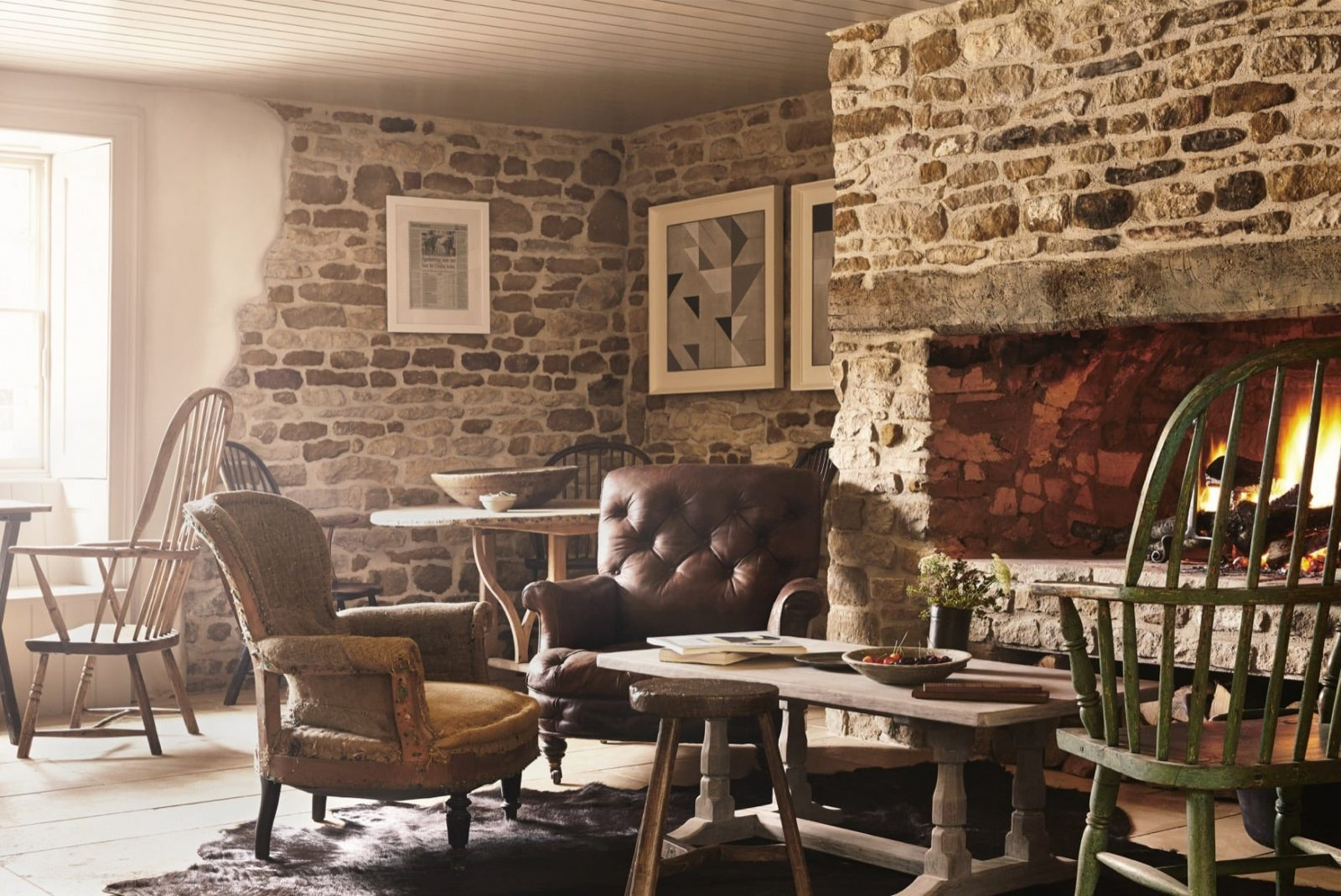The Wild Rabbit, Kingham Pub with Rooms in Oxfordshire 03