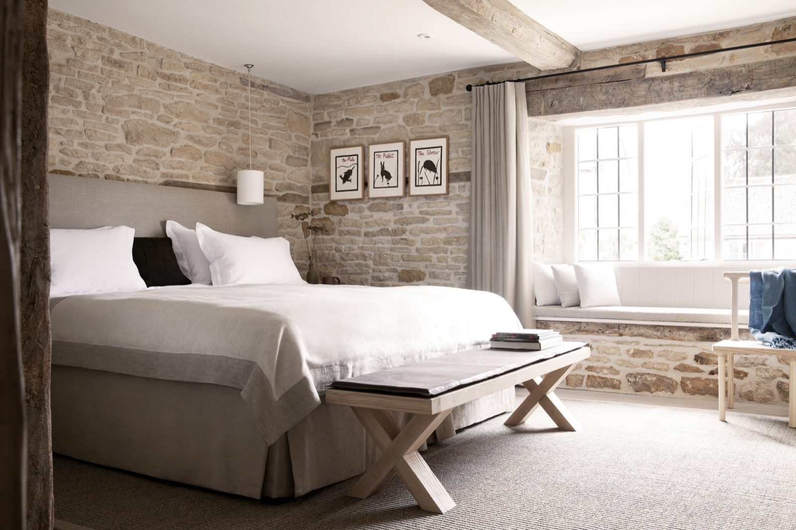 The Wild Rabbit, Kingham Pub with Rooms in Oxfordshire 19