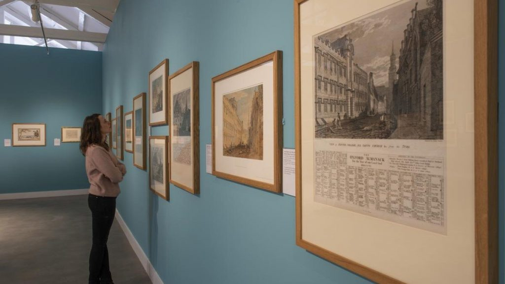 The Young Turner Exhibition at Benheim Palace Oxfordshire 01