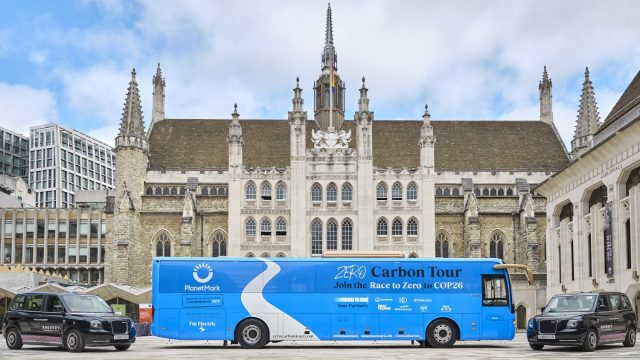 The zero carbon battle bus which is coming to Oxford and Bicester on 07 September