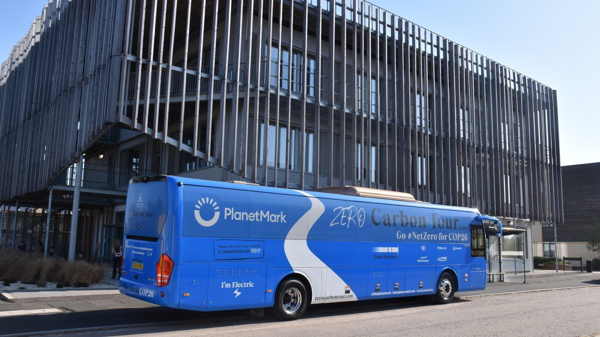 Planet Mark delivers Net Zero Carbon message to Oxfordshire's local businesses.