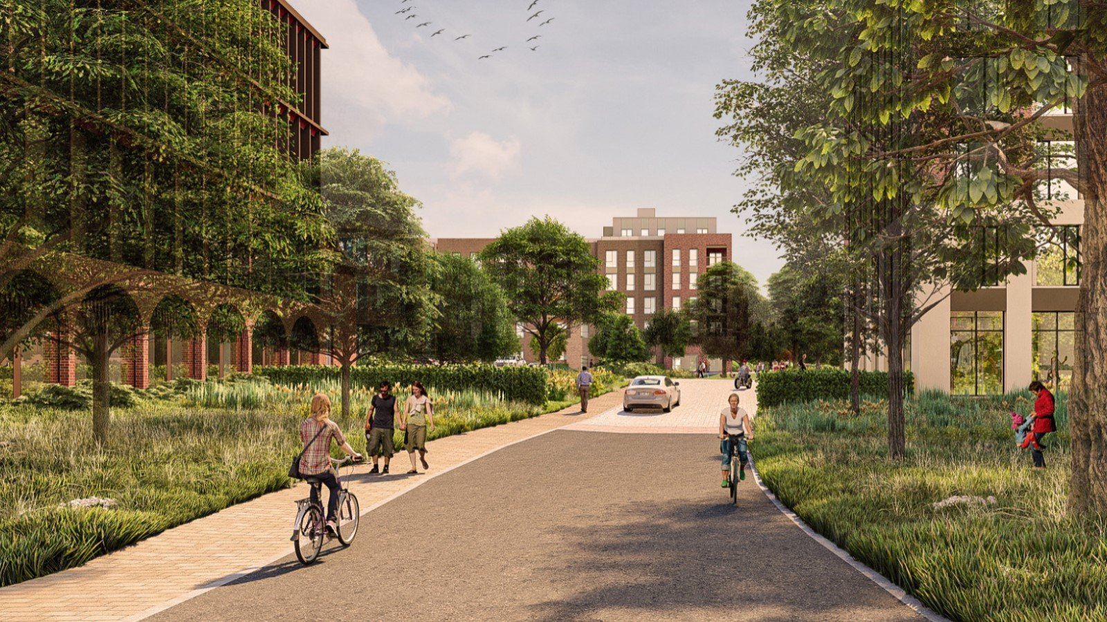 Proposal for Thornhill Park Oxford Development - Gallery Image 01