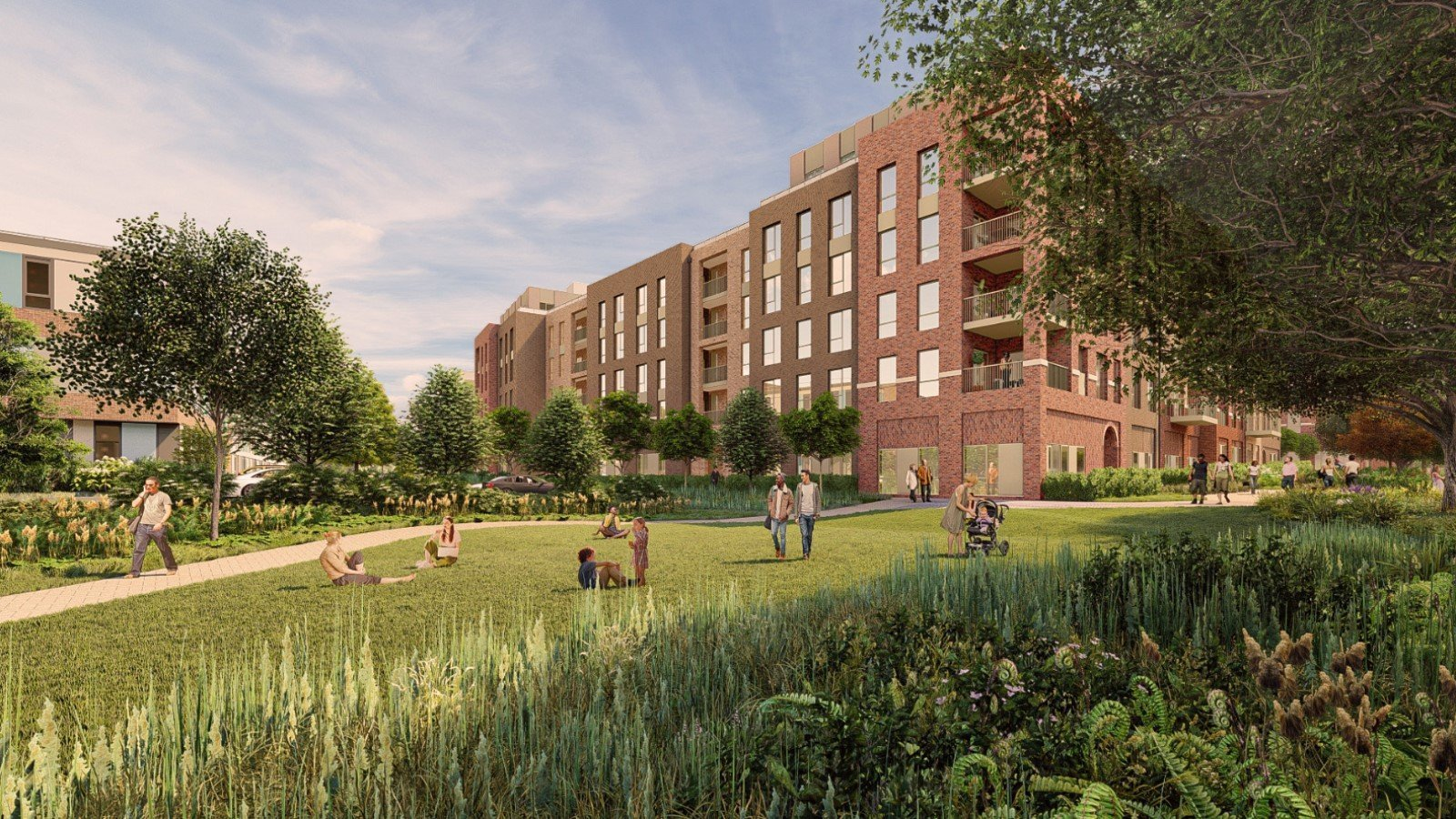 Proposal for Thornhill Park Oxford Development - Gallery Image 02