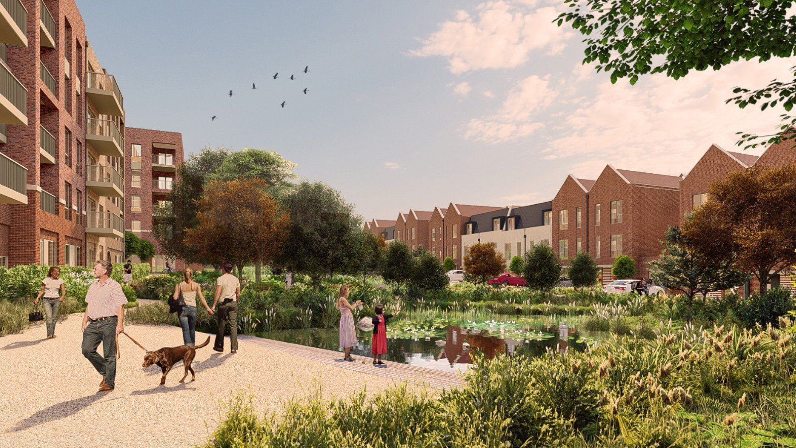 Proposal for Thornhill Park Oxford Development - Gallery Image 03