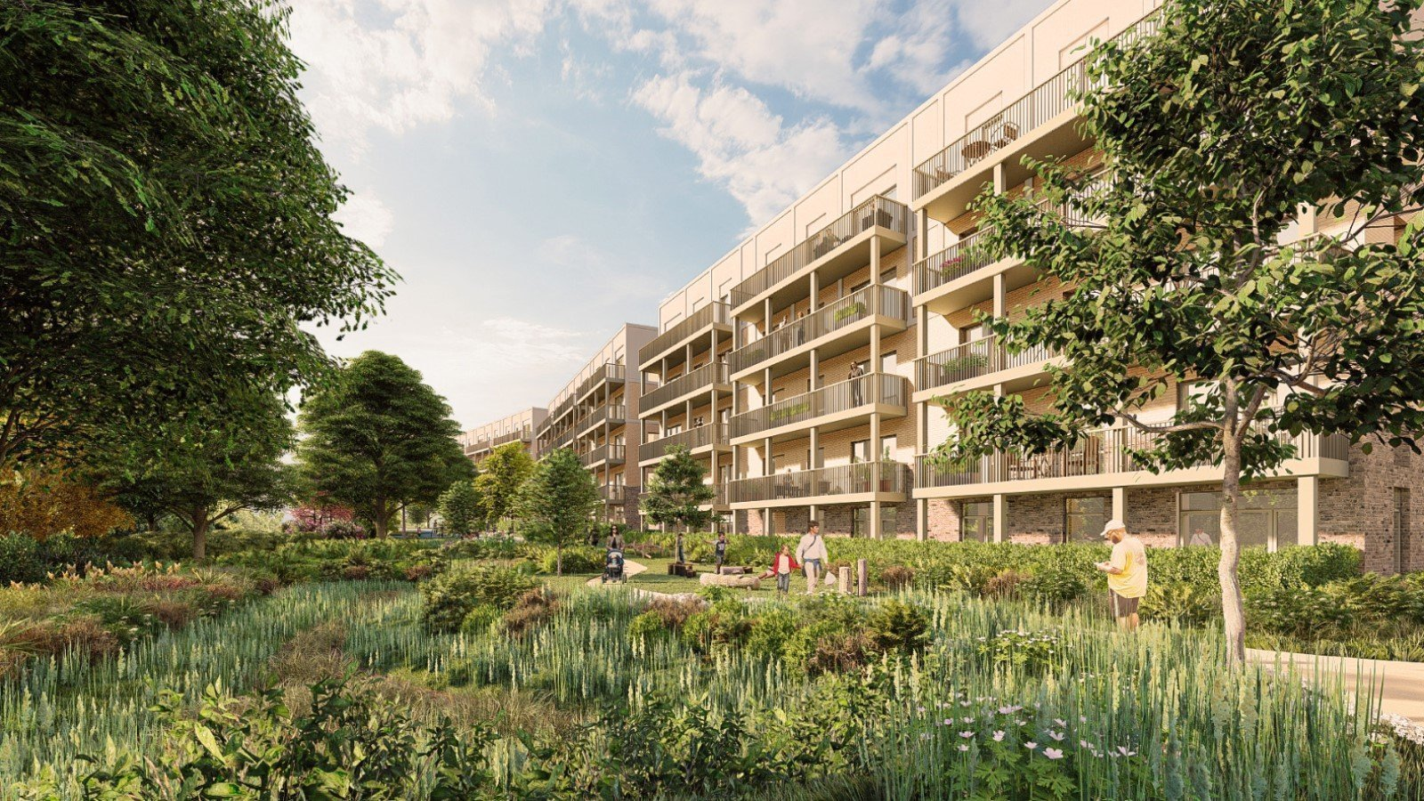 Proposal for Thornhill Park Oxford Development - Gallery Image 04