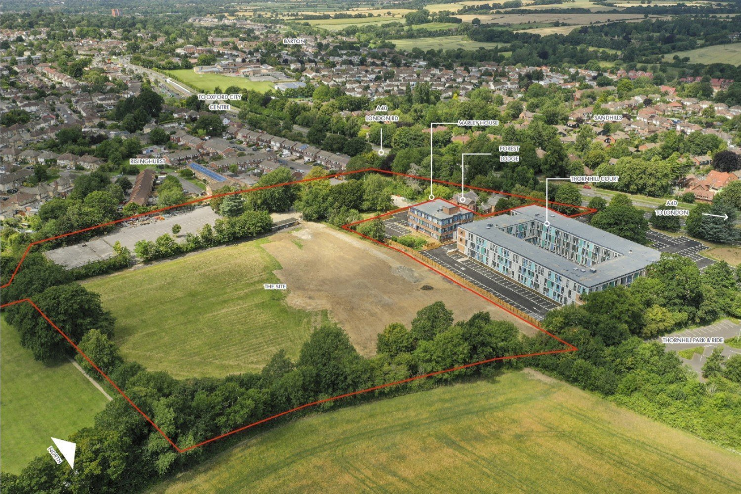 Proposal for Thornhill Park Oxford Development - The Site