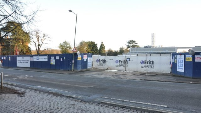 Tinbergen building demolition work completed