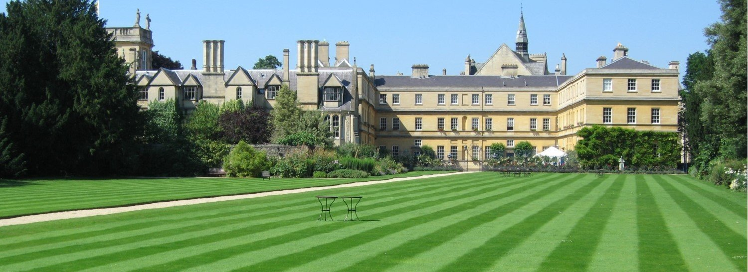 Trinity College Gardens Oxford University