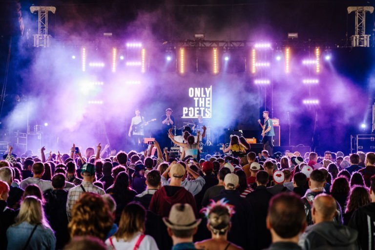 Only The Poets at Truck Festival in 2019