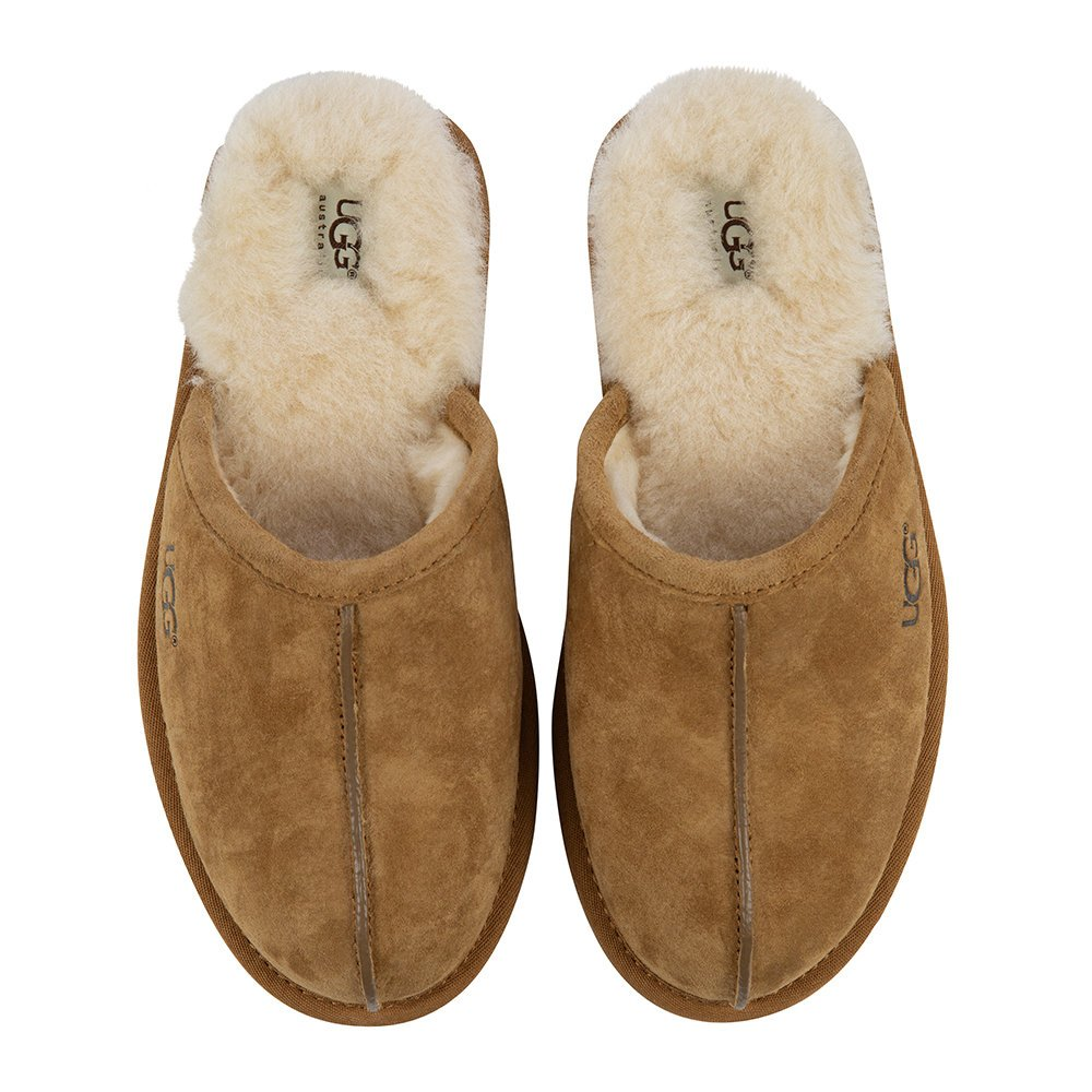 Father's Day Luxury Gift Ideas: UGG® Men's Scuff Slippers in Chestnut