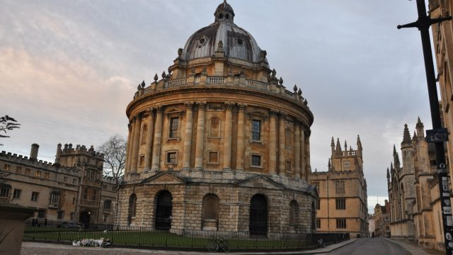 Oxford University remains top of world rankings for a sixth consecutive year