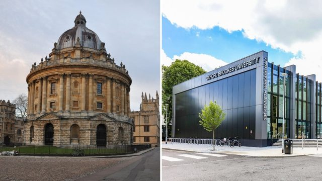 University of Oxford and Oxford Brookes University