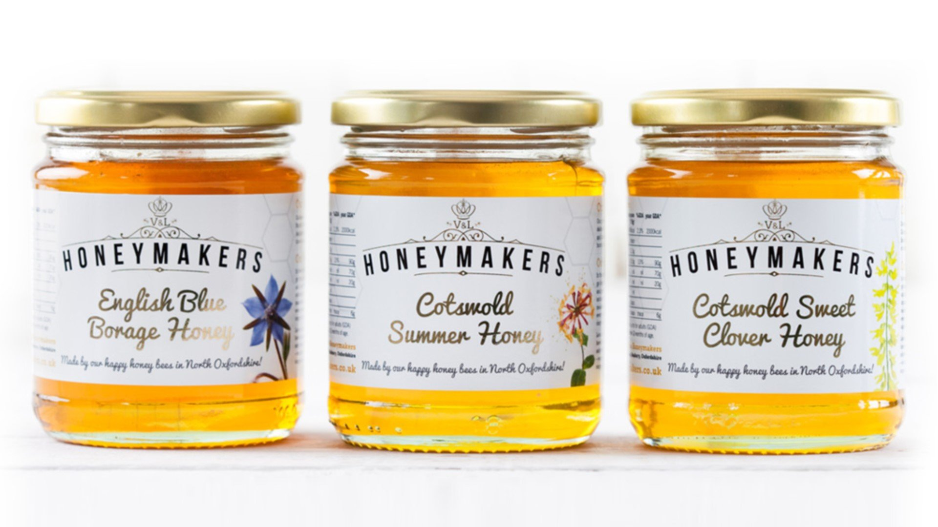 V&L Honeymakers Oxfordshire Artisan Honey