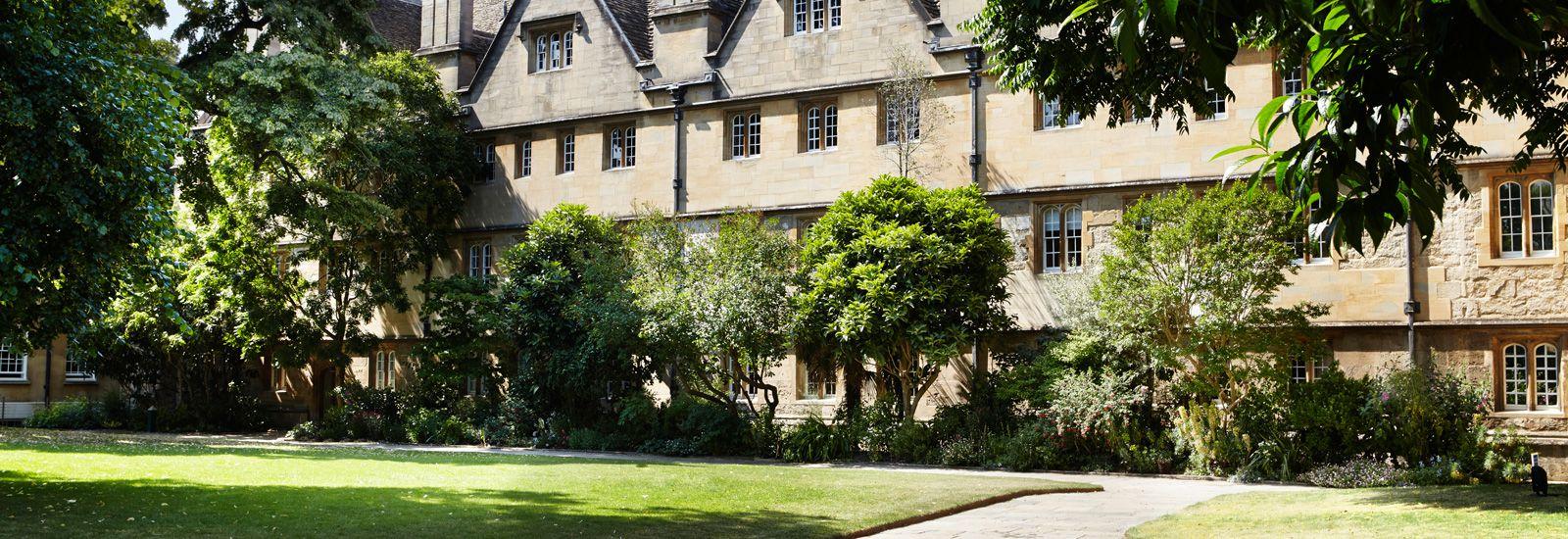 Wadham College Gardens