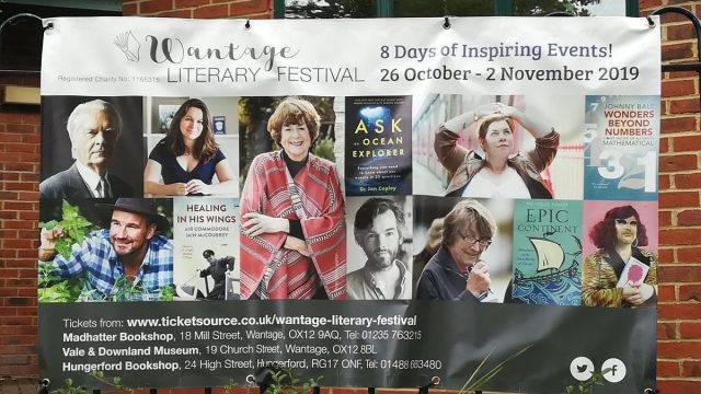 Wantage Literary Festival 2019 Banner