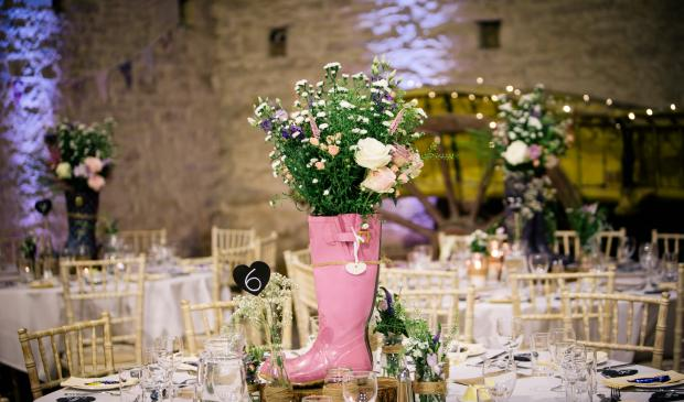 Weddings at Cogges Manor Farm Barn