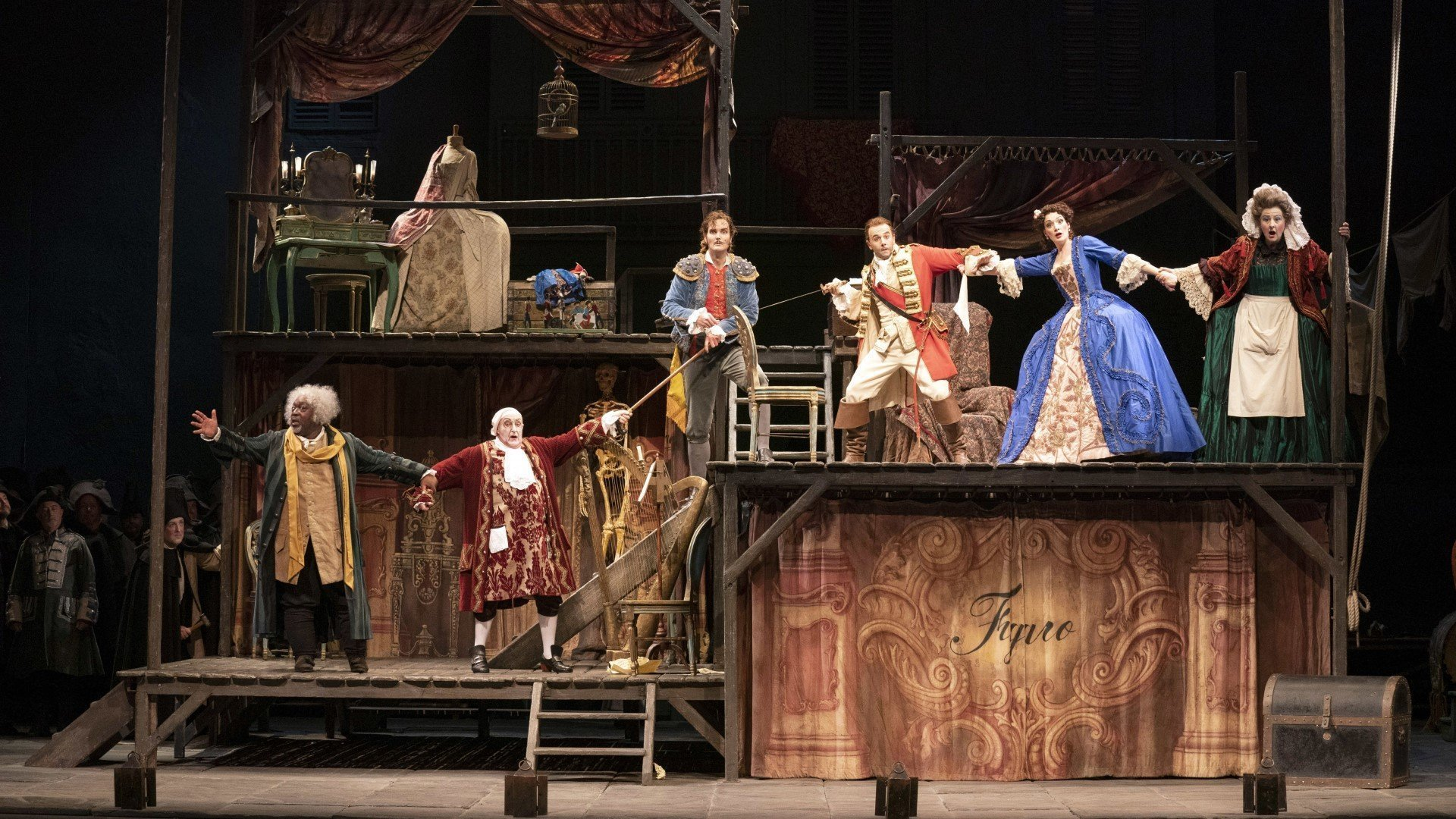 The Barber of Seville by Welsh National Opera at New Theatre Oxford