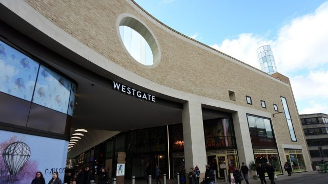 Westgate Oxford almost fully occupied