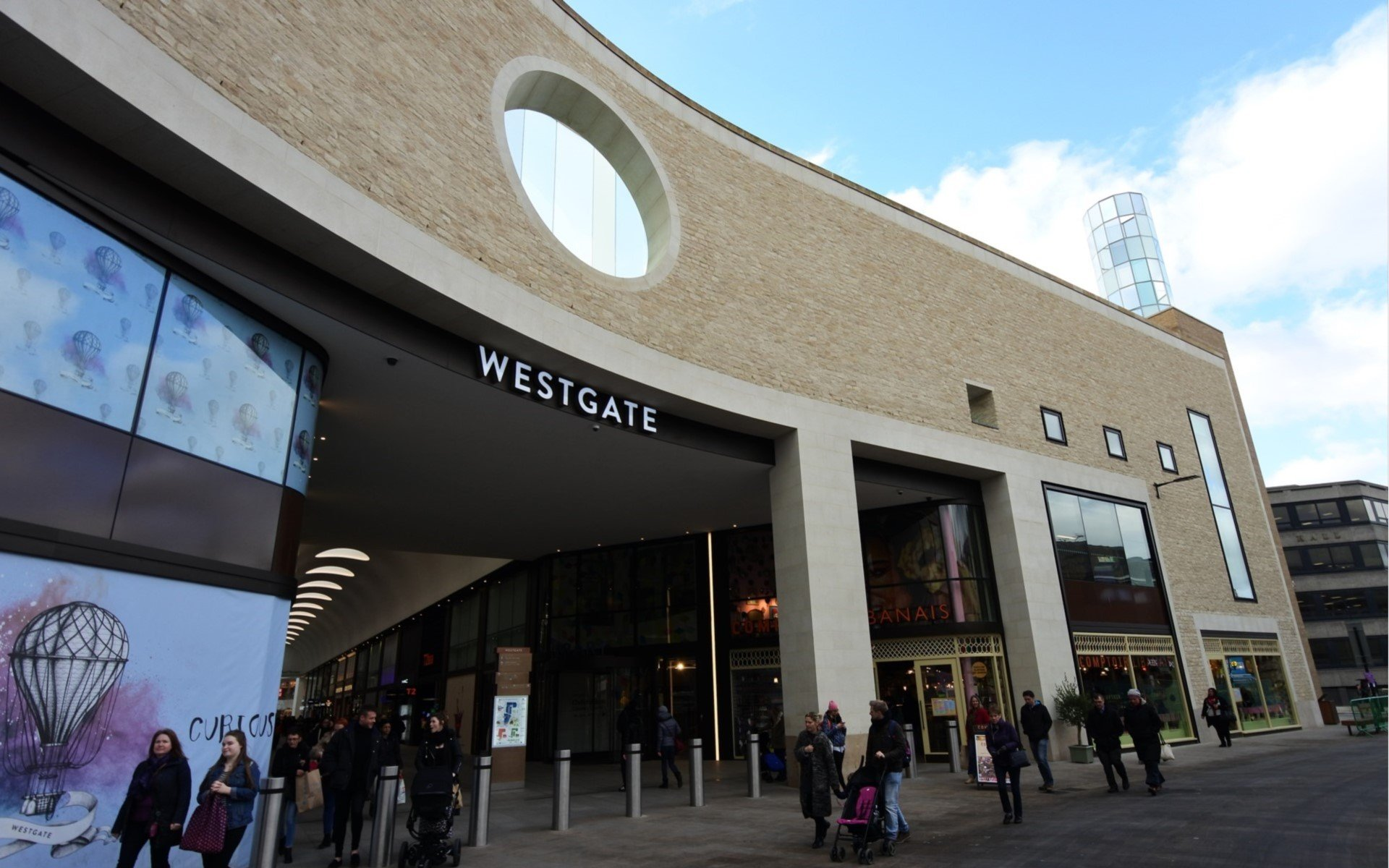 Westgate Oxford Shopping Centre Exterior