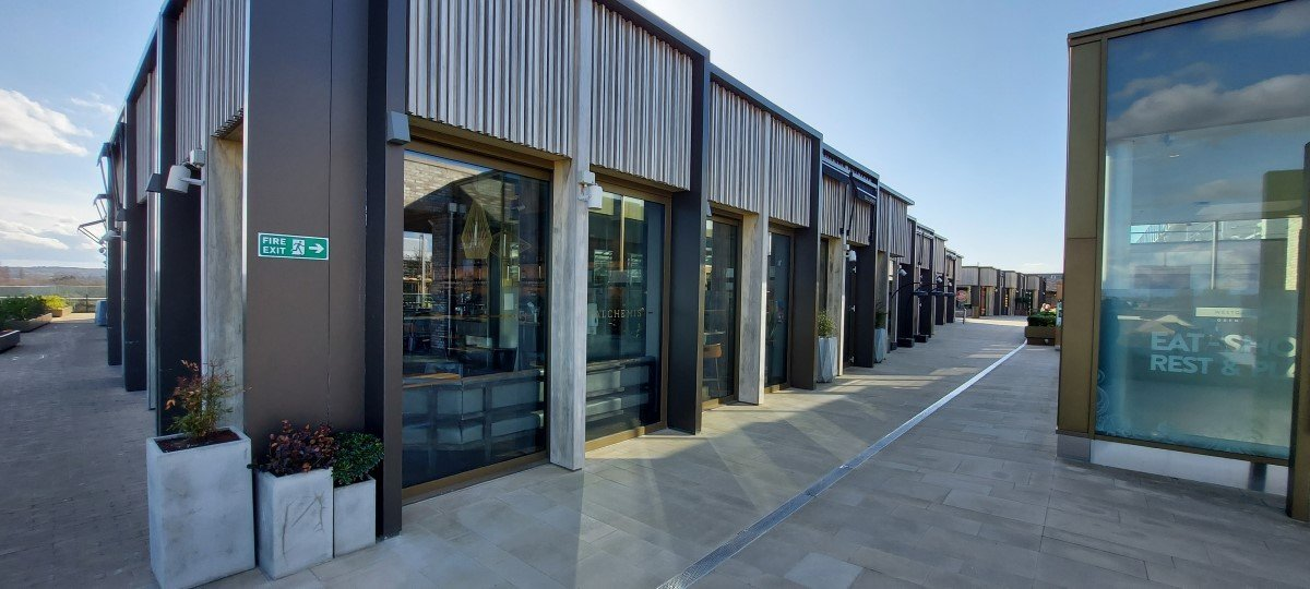 The Alchemist, The Roof Terrace at Westgate Centre, Oxford