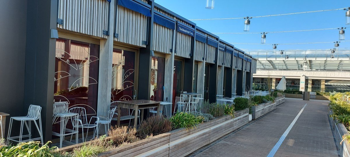 The Breakfast Club, The Roof Terrace at Westgate Centre, Oxford
