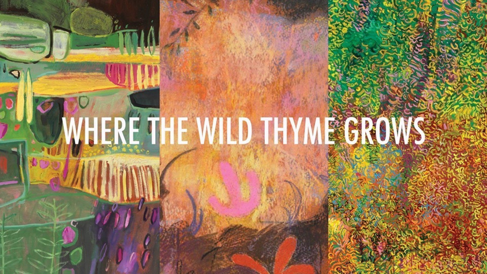 Where The Wild Thyme Grows at The Jam Factory Oxford