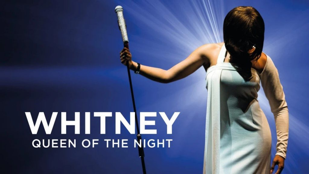 Poster for the Whitney - Queen of the Night Tribute Show at New Theatre, Oxford