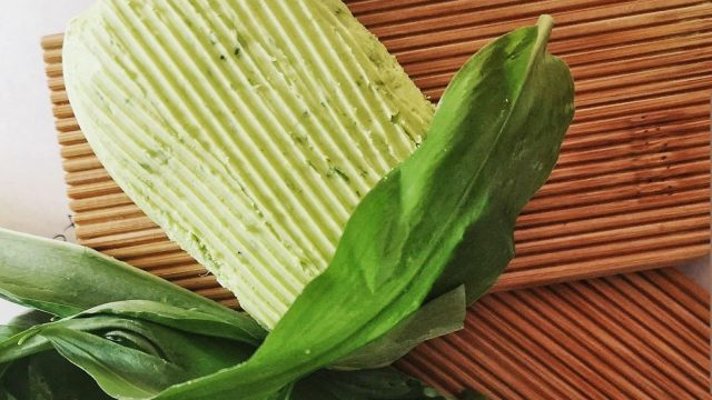 Homemade Wild Garlic Butter Recipe