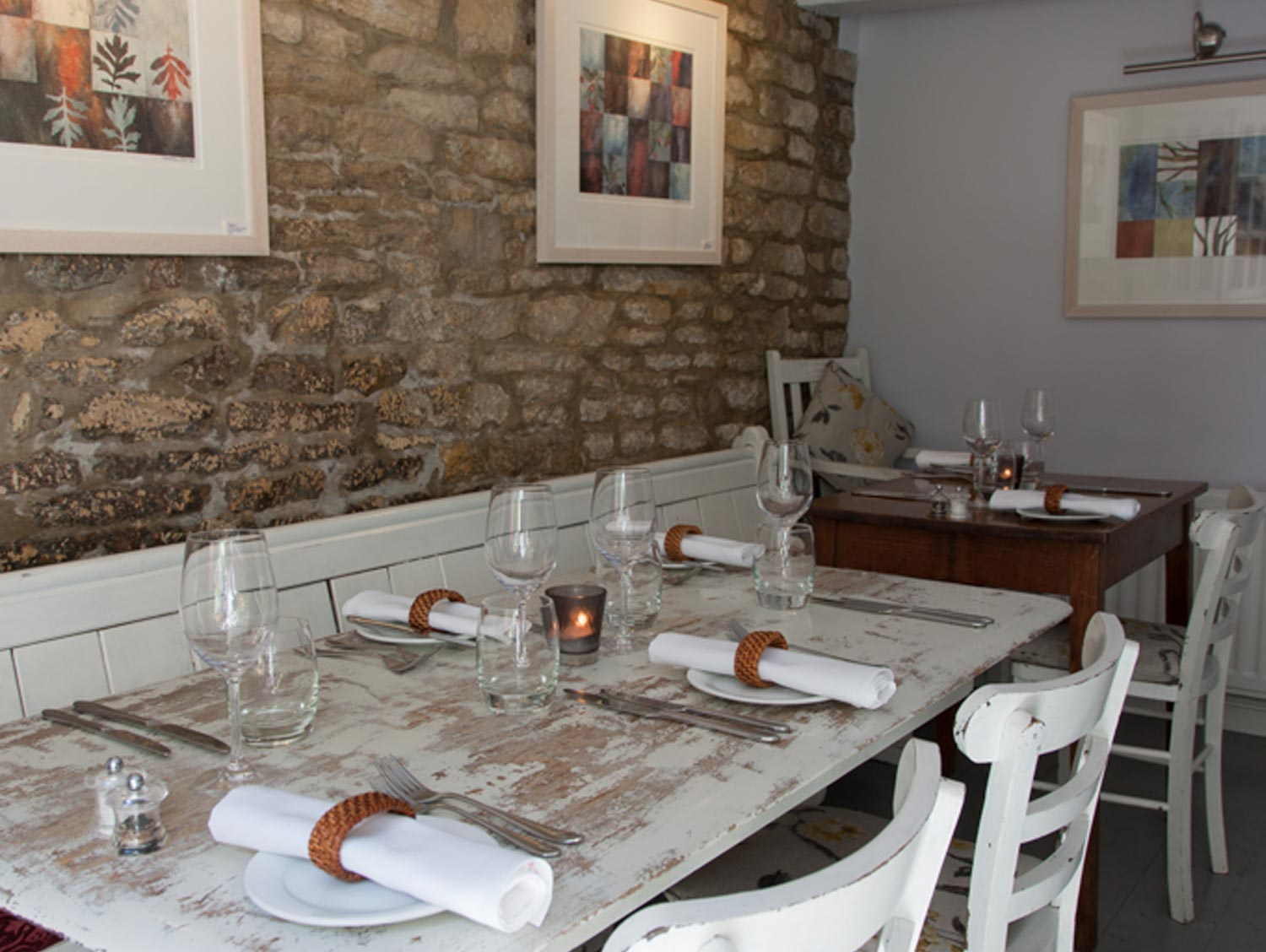 Wild Thyme Restaurant in Chipping Norton, Oxfordshire
