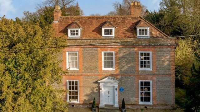 Look inside this beautiful Grade II listed house once home to Agatha Christie