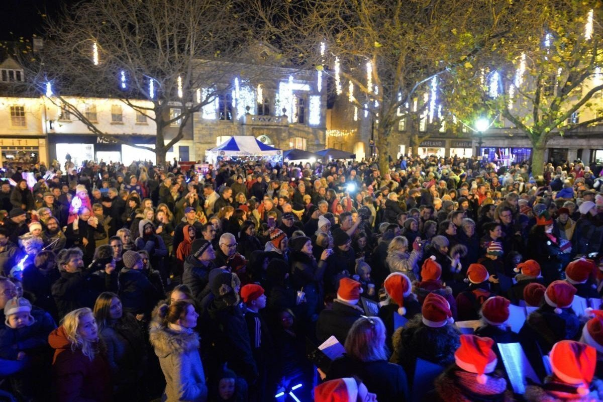 Witney Christmas Lights Switch-on Event 2020