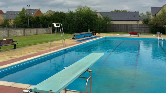 Countdown begins for the re-opening of Woodstock Pool