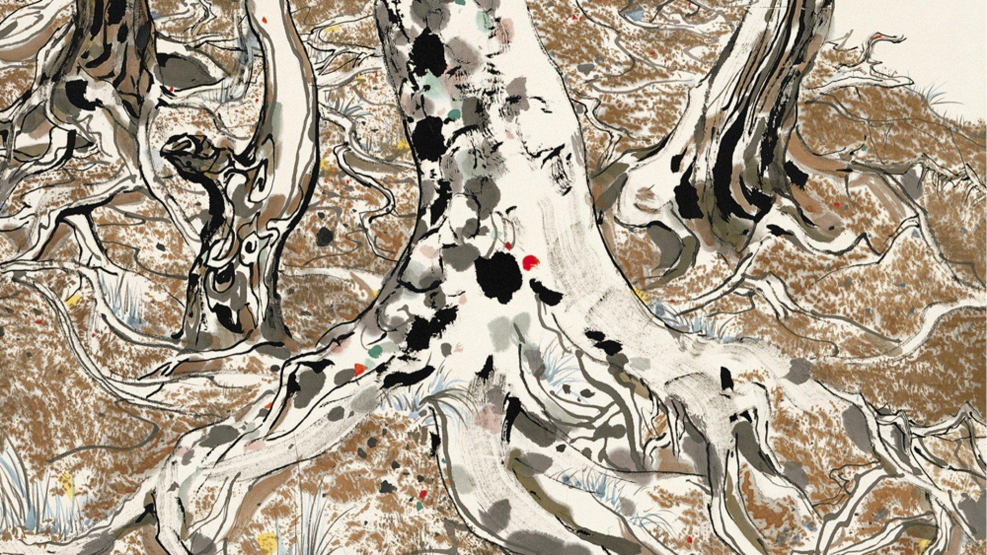 Wu Guanzhong exhibition at Ashmolean Museum