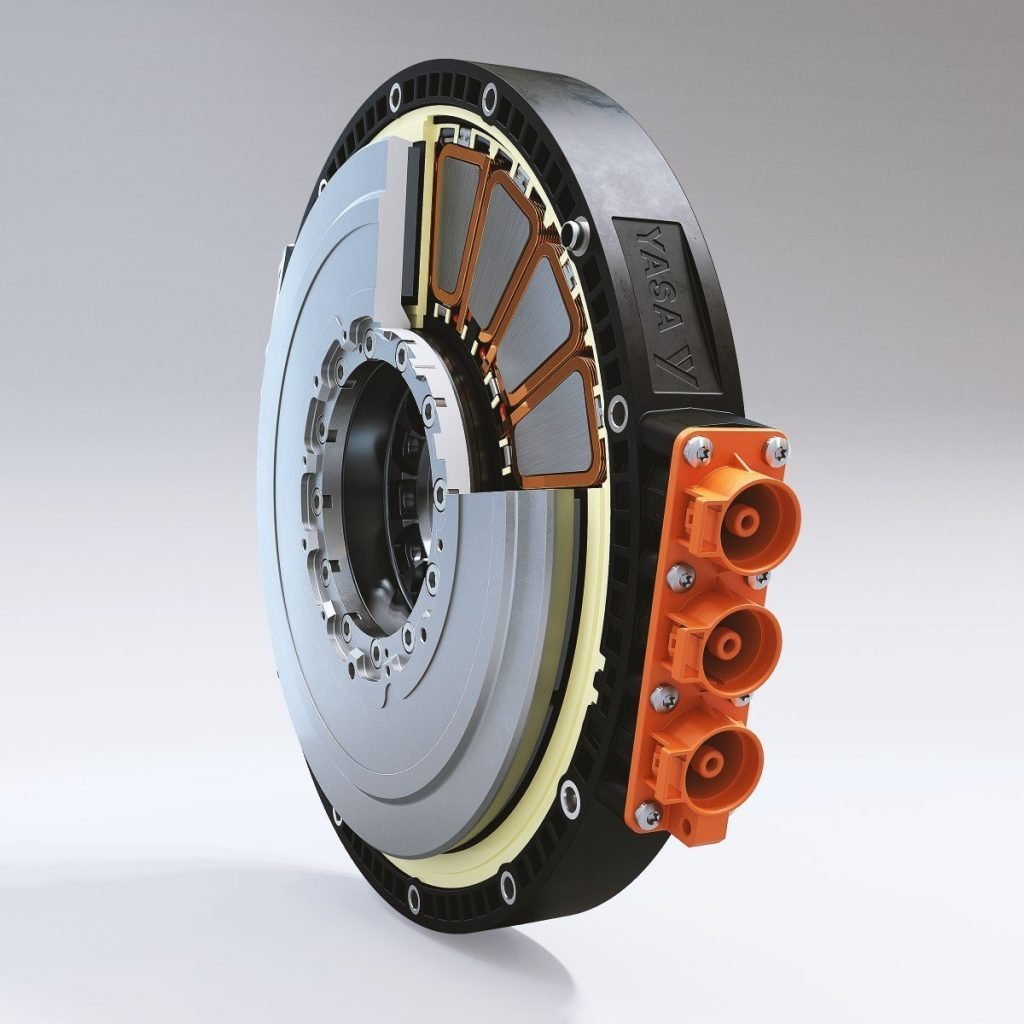 YASA's axial-flux electric motor - a step-change from legacy radial motors.